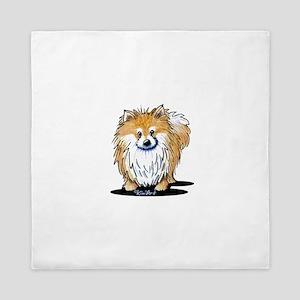 KiniArt™ Pomeranian Queen Duvet