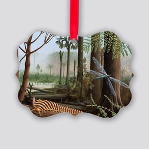 Carboniferous insects, artwork - Picture Ornament