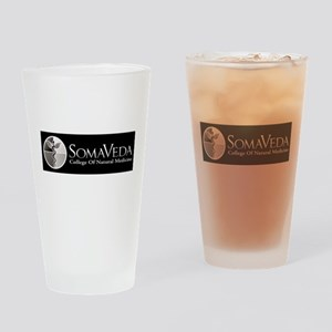 SCNM School Logo BW Drinking Glass