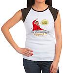Hugo Chavez Sulphur Smell Wmns Cap Sleeve Tee
