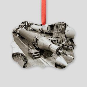 Rocket production - Picture Ornament