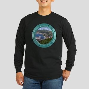 St Thomas Porthole Long Sleeve Dark T-Shirt