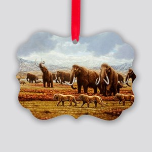 Woolly mammoths - Picture Ornament