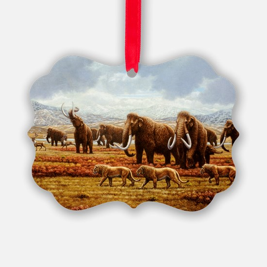 Woolly mammoths - Ornament