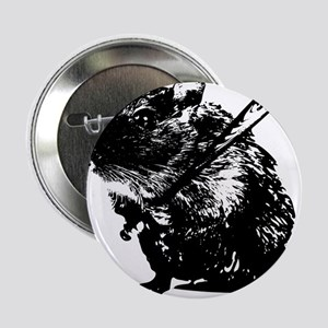 """Angry mouse 2.25"""" Button"""