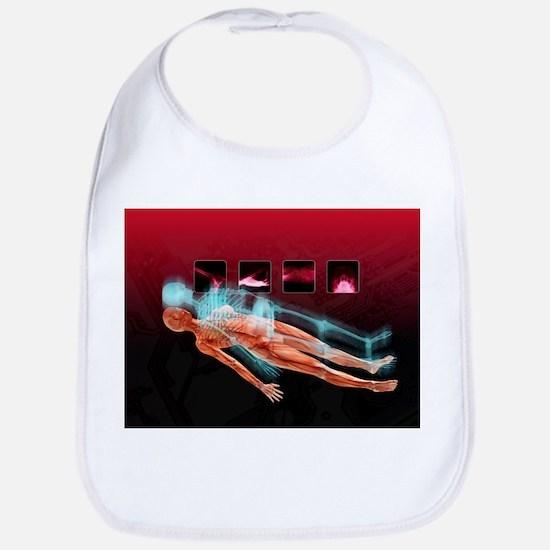 3D hospital scan, conceptual artwork - Bib