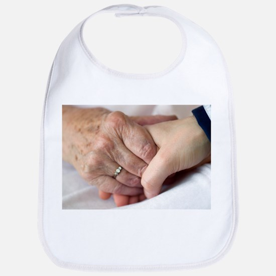 Caring for the elderly, conceptual image - Bib