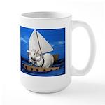 Kirby and Dexter Sailing Large Mug