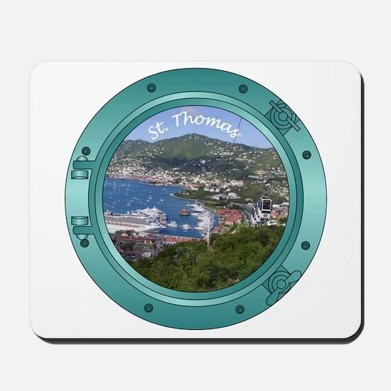 St Thomas Porthole Mousepad