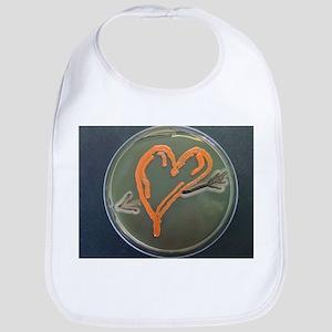 Love, microbial art - Bib