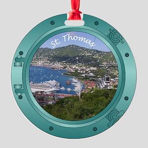 St Thomas Porthole Round Ornament