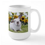 Presto with Sunflowers-1 Large Mug