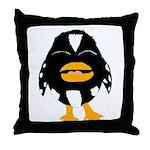 Laughing Penguin 1 Throw Pillow