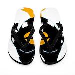 Laughing Penguin 1 Flip Flops