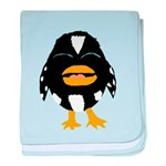Laughing Penguin 1 baby blanket
