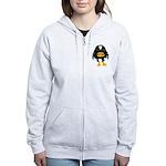 Laughing Penguin 1 Women's Zip Hoodie