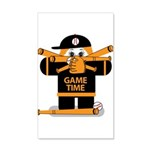 Game Time 35x21 Wall Decal