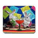 Tiggy and Beatrix Celebrate Cinco de Mayo Mousepad