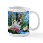 Buttercup Bunny on Lily Pads-1 Mug