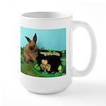 Buddy the Lucky Bunny Large Mug