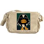 Laughing Penguin Messenger Bag