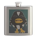 Laughing Penguin Flask