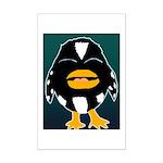 Laughing Penguin Mini Poster Print