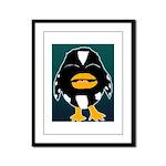 Laughing Penguin Framed Panel Print
