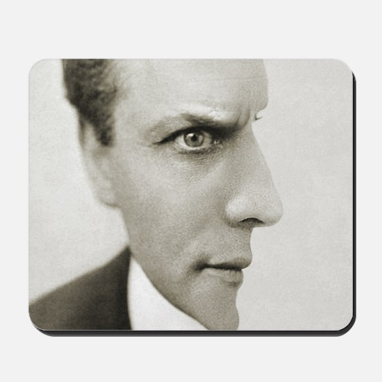 Houdini Optical Illusion Horizontal Mousepad