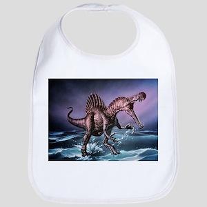 Spinosaurus dinosaur - Bib
