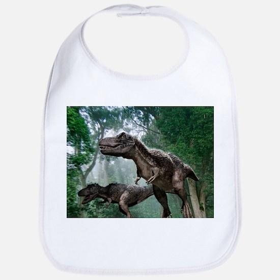 Tyrannosaurus rex dinosaurs - Bib