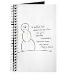 Caring Snowman Journal