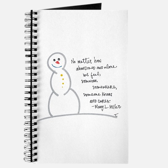 Caring Snowman Journal