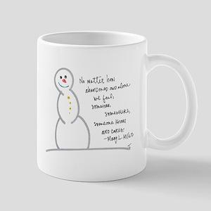 Caring Snowman Mug