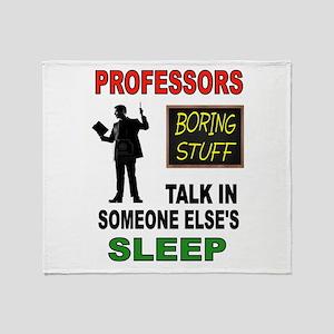 PROFESSOR Throw Blanket