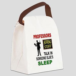 PROFESSOR Canvas Lunch Bag