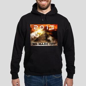 2013: We Made It!!! Hoodie (dark)