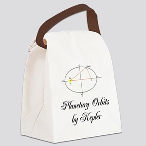 Planetary Orbits by Kepler Canvas Lunch Bag