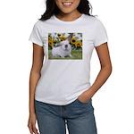 Presto with Sunflowers-1 Women's T-Shirt