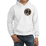 Mac's Tri Hooded Sweatshirt, Pocket