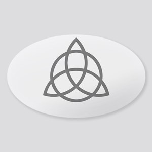 Triquetra Sticker (Oval)