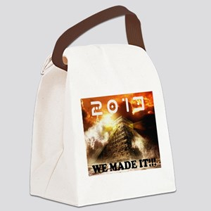 2013: We Made It!!! Canvas Lunch Bag