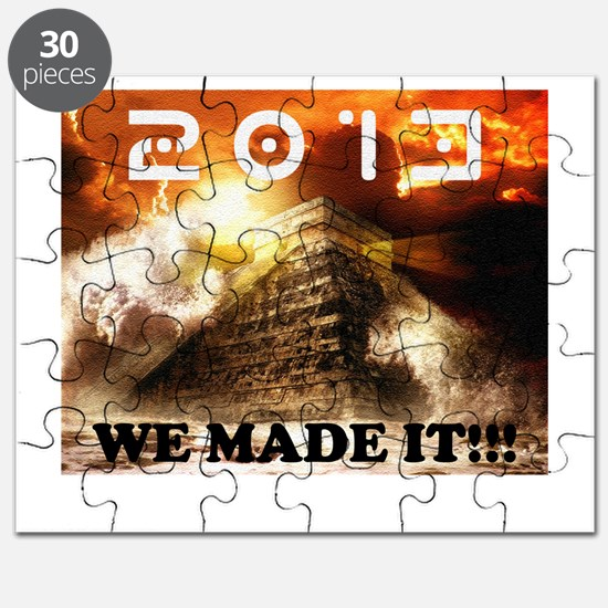 2013: We Made It!!! Puzzle