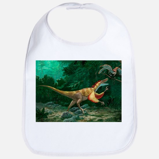 Feathered dinosaurs - Bib