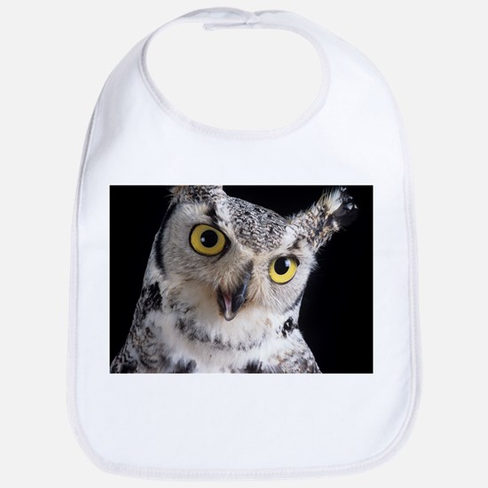 Great horned owl - Bib