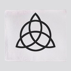 Triquetra Throw Blanket