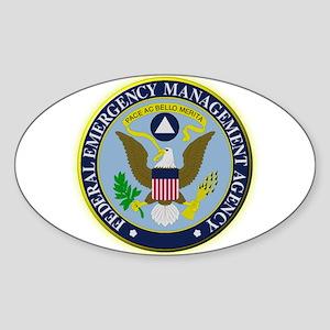 F.E.M.A. Sticker (Oval)
