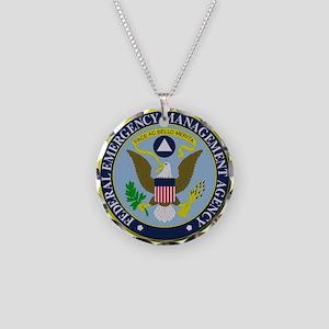F.E.M.A. Necklace Circle Charm