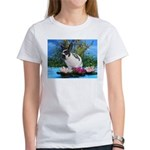 Buttercup Bunny on Lily Pads-2 Women's T-Shirt
