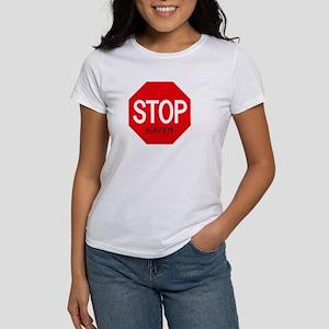 Stop Gavyn Women's T-Shirt